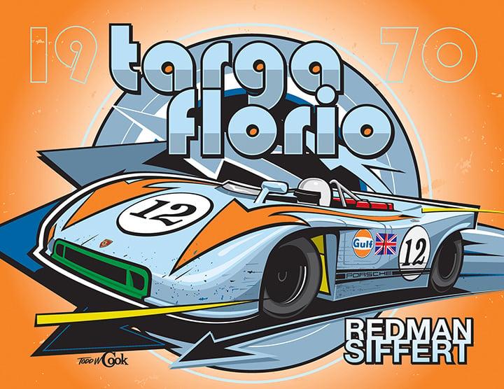 Image of Porsche 908 Targa Florio Print