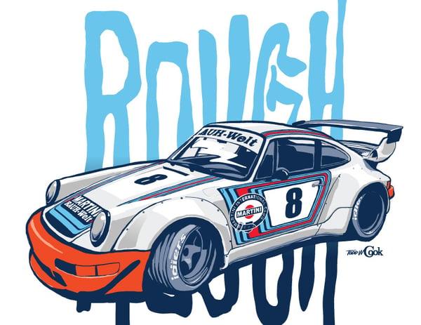 Image of RWB Martini Porsche Print