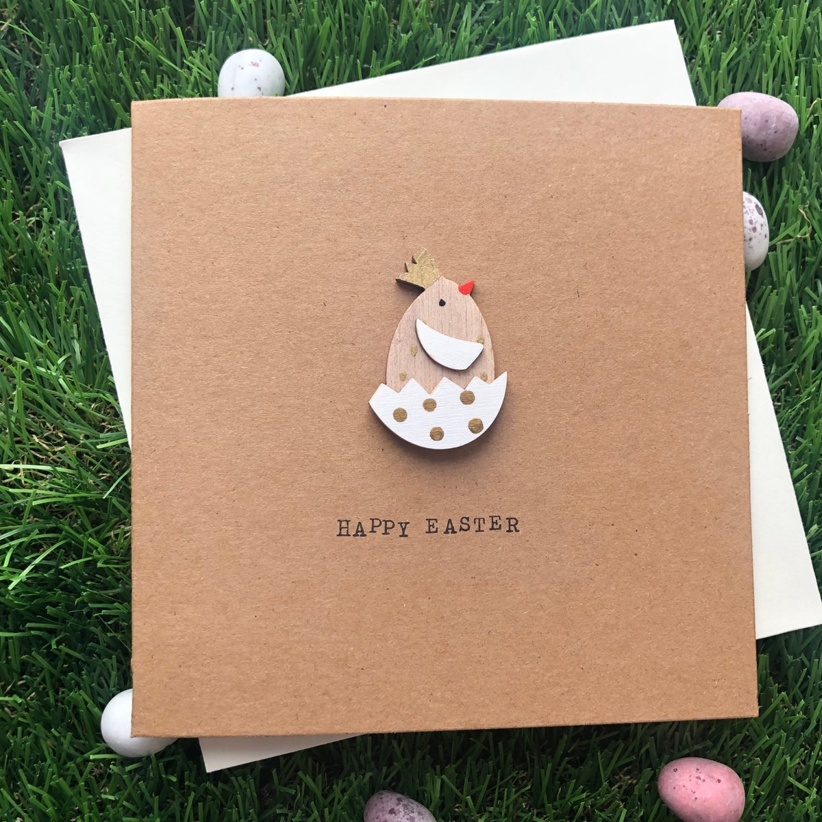 Image of Happy Easter Chick Card