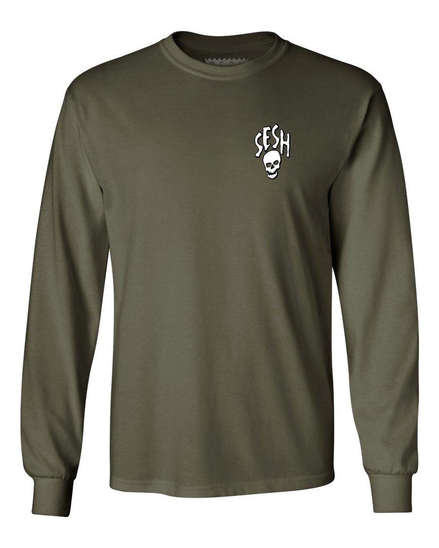 Image of Seshskull Long Sleeve Shirt
