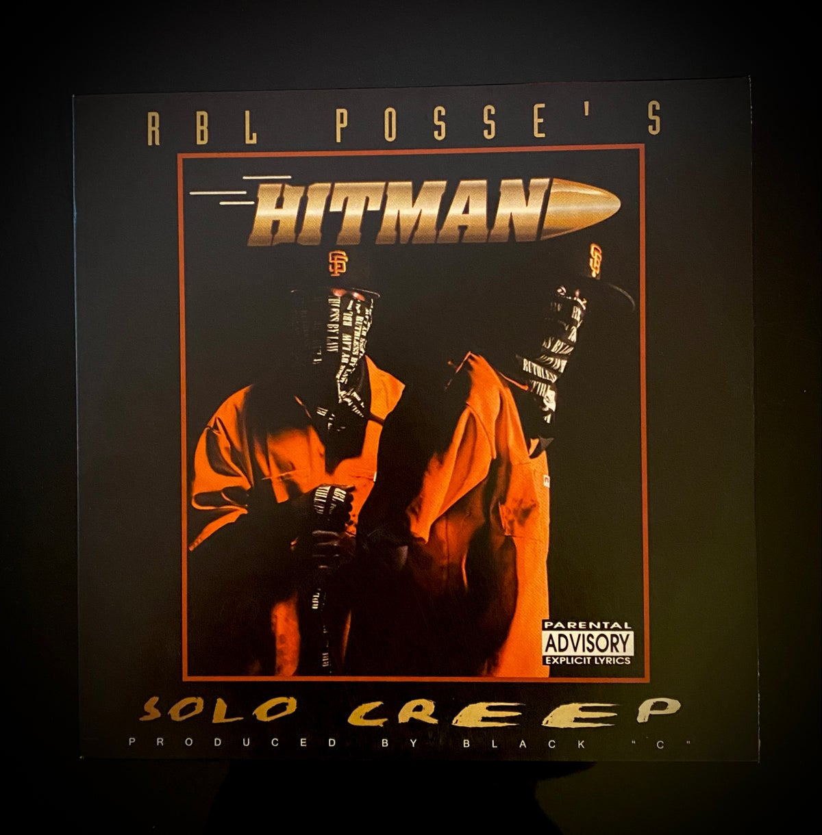"Image of RBL's Hitman- ""SOLO CREEP"" 2xlp"
