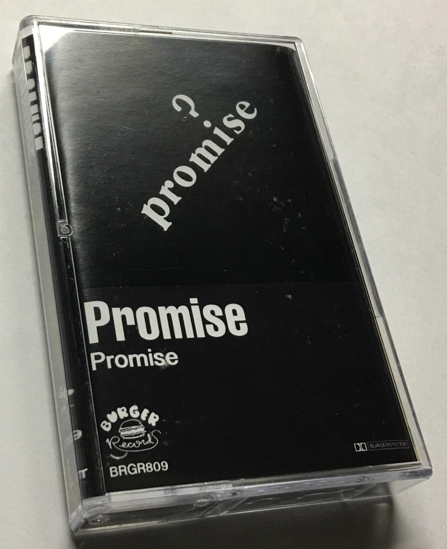 Image of [LAST COPIES!!!] PROMISE - 'Self-titled'  CASSETTE (Burger Records, 2015 - BRGR809)