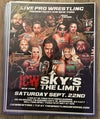"ICW ""Sky's The Limit"" Full Signed Event Poster"