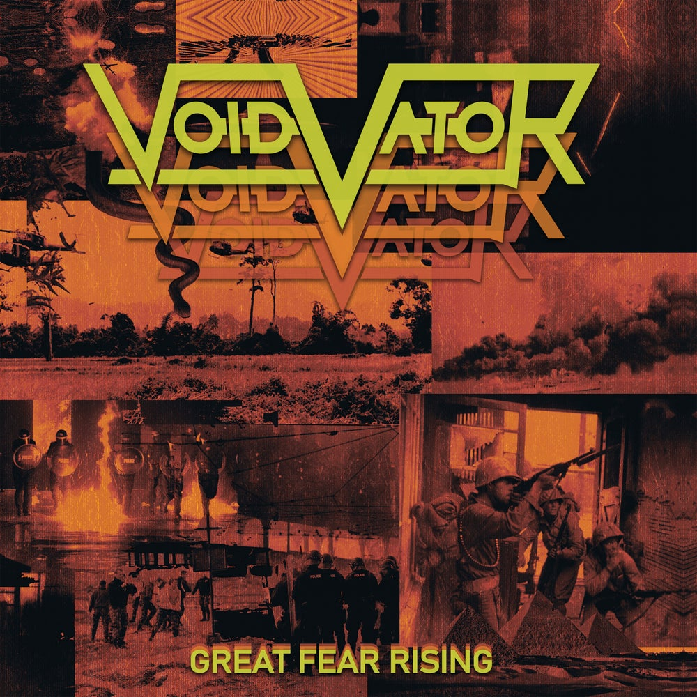 Image of Void Vator - Great Fear Rising Limited Digipak CD