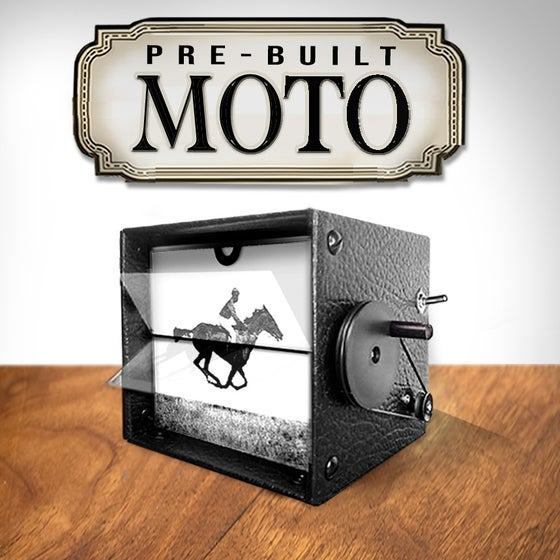 Image of Pre-Built Motorized BLACK FlipBook