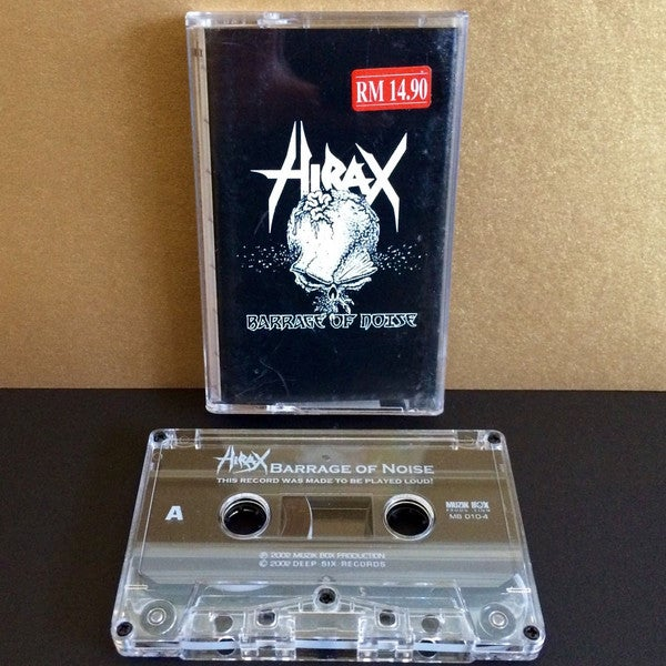 HIRAX Cassette tapes