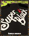 SWEATSHIRT: SUPER BLACK