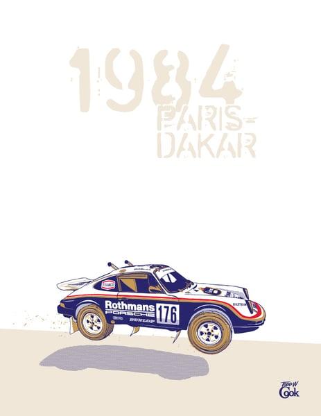 Image of Porsche Paris-Dakar Print