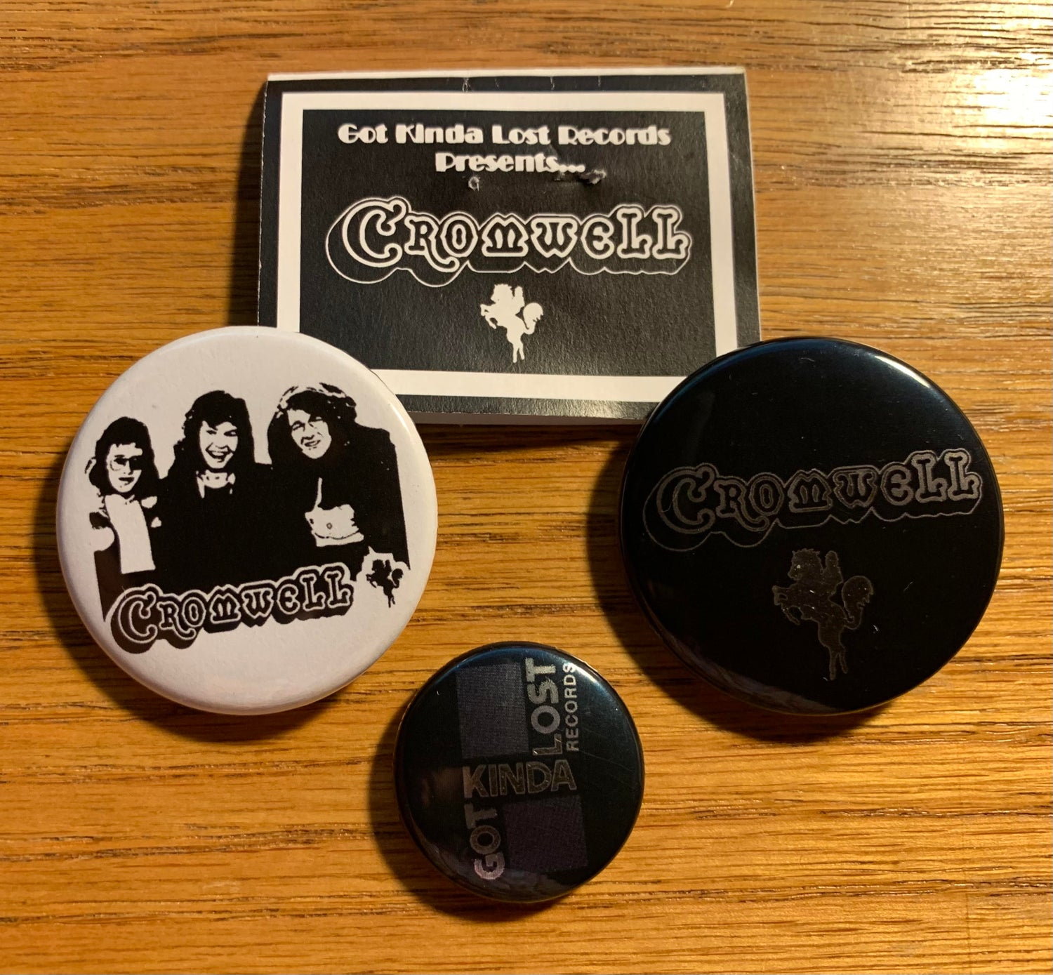 Image of CROMWELL - 'At The Gallop' BUTTON PACKS