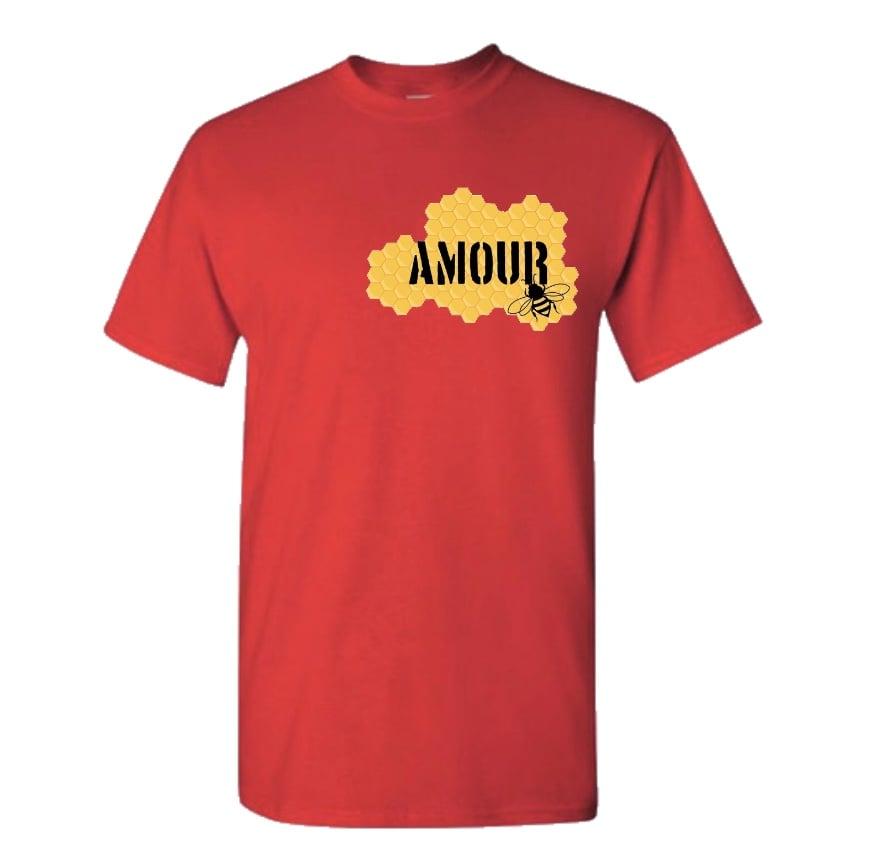 Amour Tshirt Honeycomb Logo