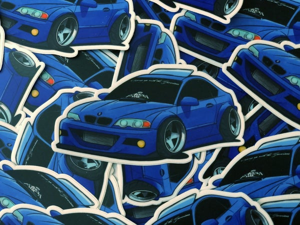 Image of Anti-Purist E46 Diecut Sticker