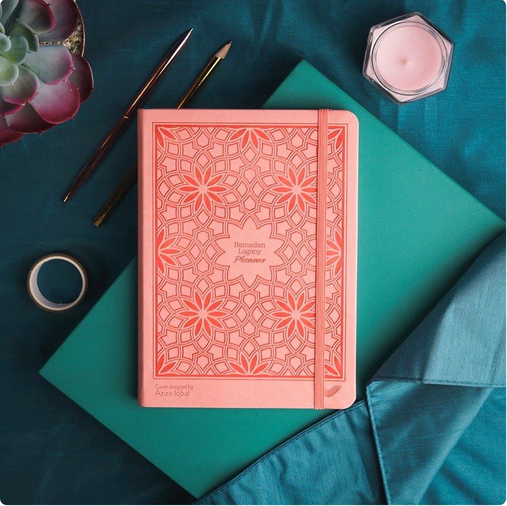Image of Magnificent Marjan Coral Edition Ramadan Legacy Planner