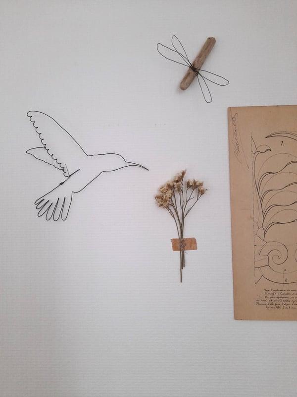 Image of {Colibri des fleurs} - suspension