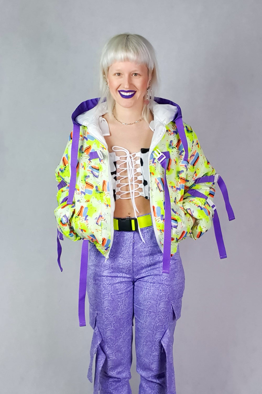 Image of Neon yellow jacket