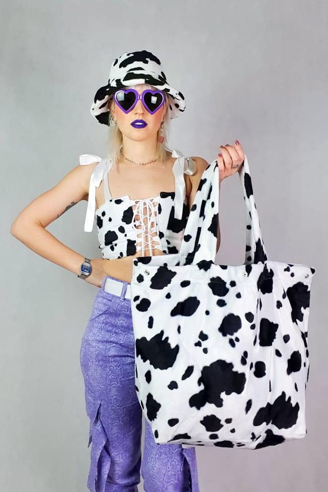 Image of cow GIGA purse