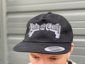 Pain of Truth - No Blame, Just Facts Embroidered Snapback