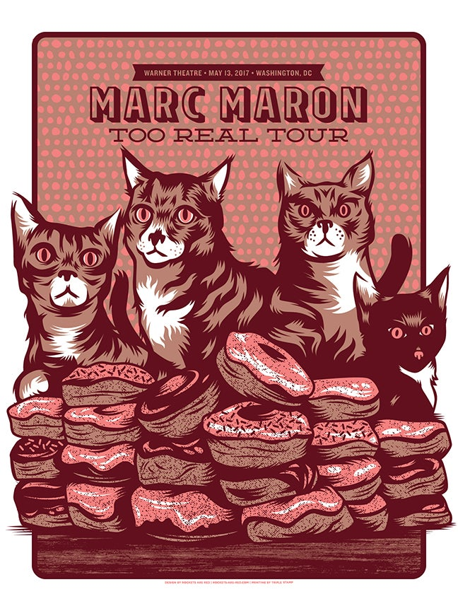 Image of Marc Maron - Donuts and Cats