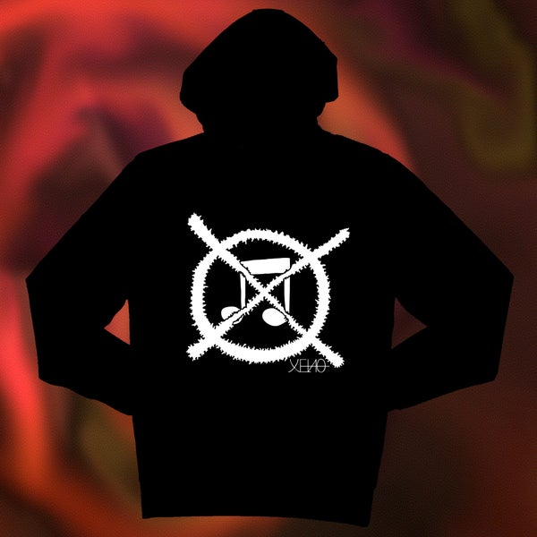"Image of XENO ""GRINDCORE"" HOODIE"