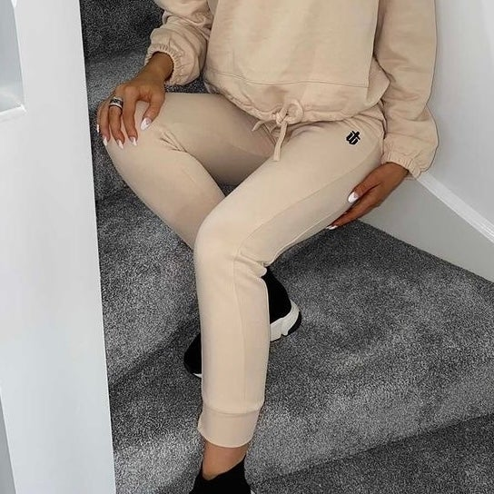 Image of NUDE FITTED JOGGERS