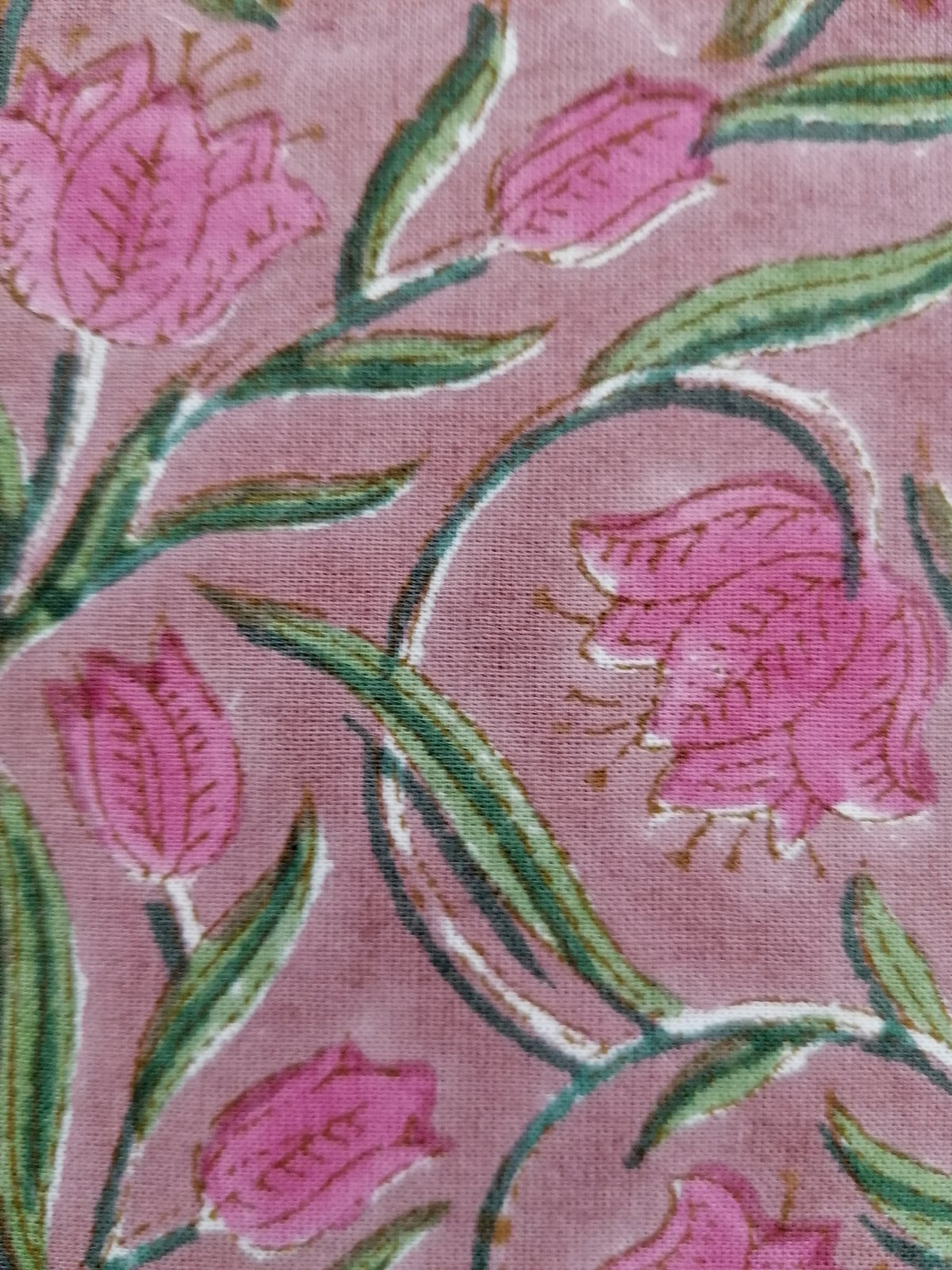 Image of Namasté fabric pink