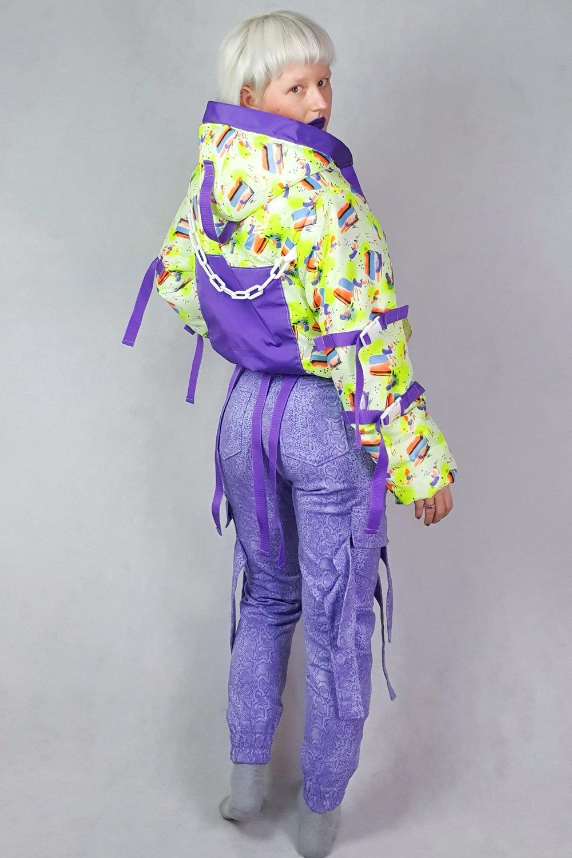 Image of Lila Snake Cargo Pants