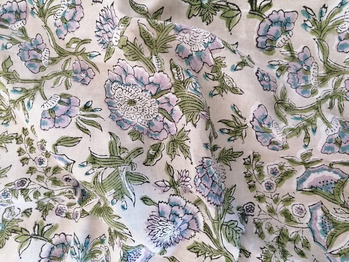 Image of Namasté fabric hortensia*