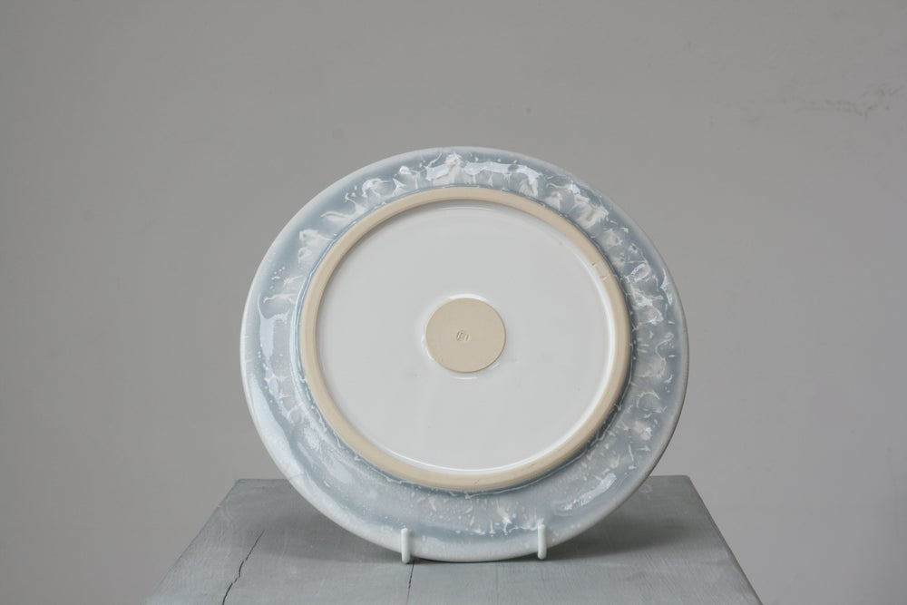 Image of Speckled breakfast plate    SALE