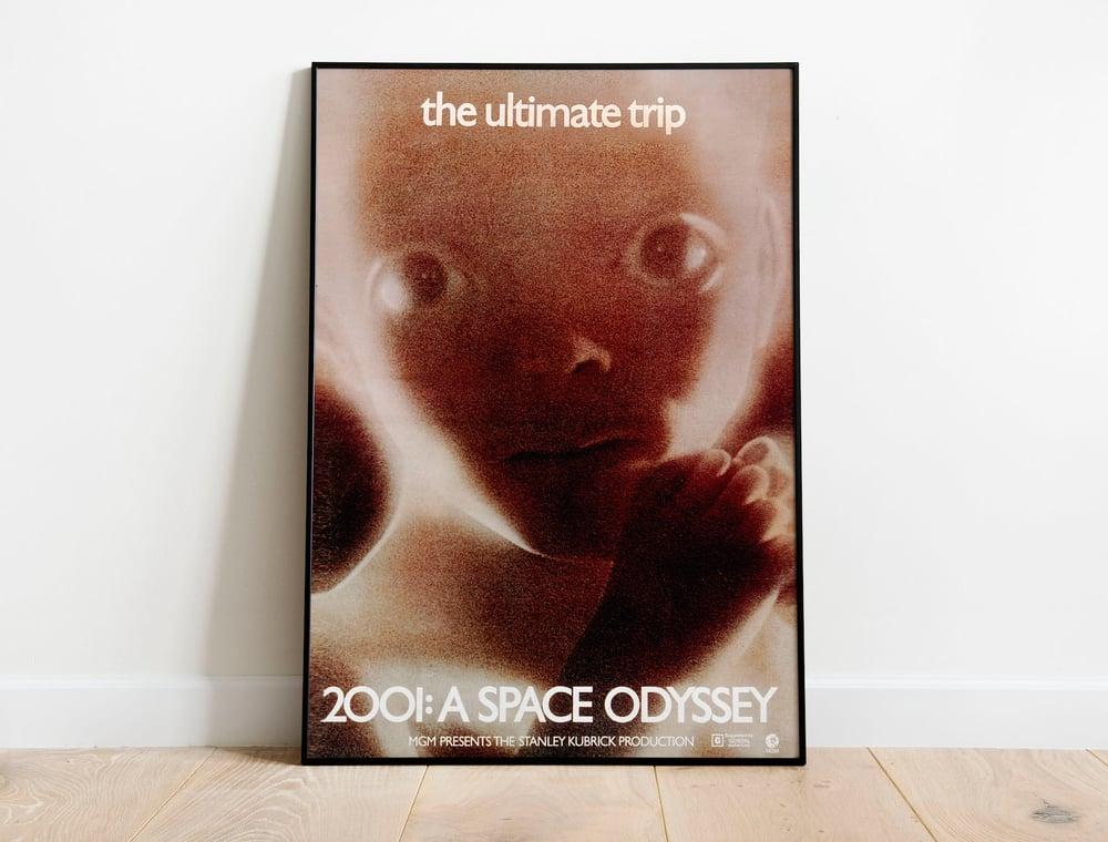 2001 Space Odyssey - Stanley Kubrick Movie Poster Wall Art