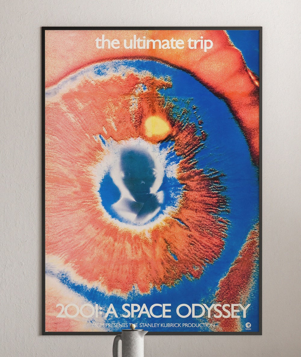 2001 Space Odyssey - Stanley Kubrick Retro Movie Poster Print