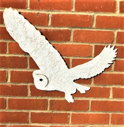 Hand Forged Owl Wall Art