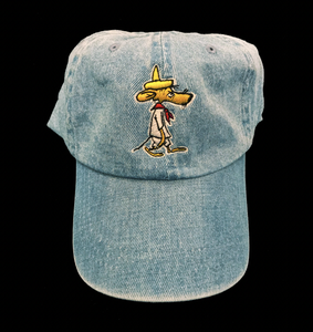 Image of SLOWPOKE DENIM CAP (FREE-SHIPPING ON THIS ITEM ONLY)