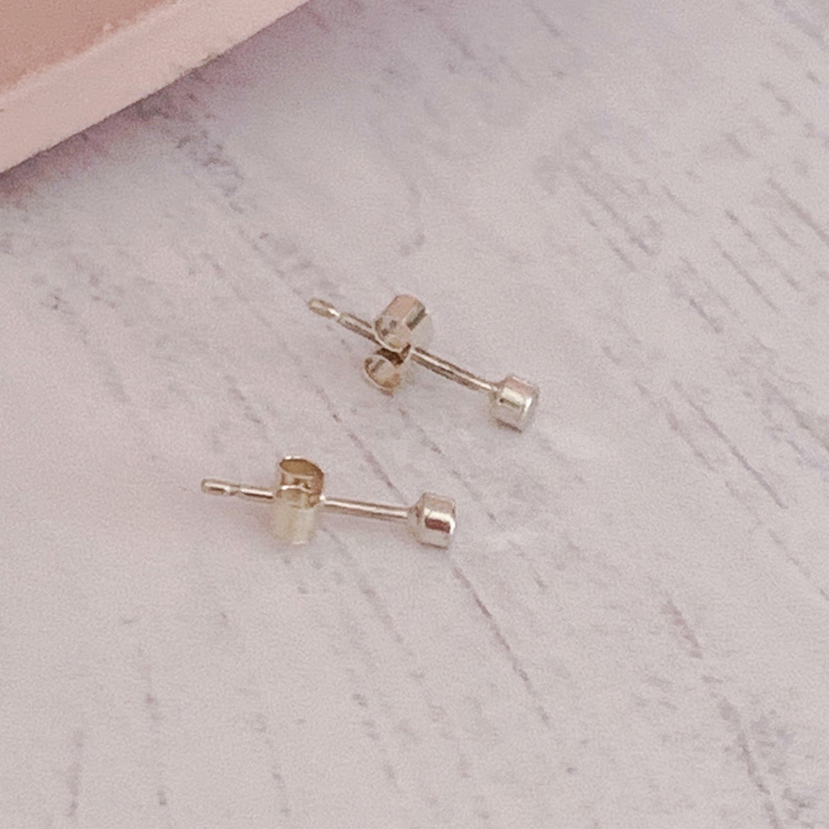 Image of Tiny dot everyday stud earrings