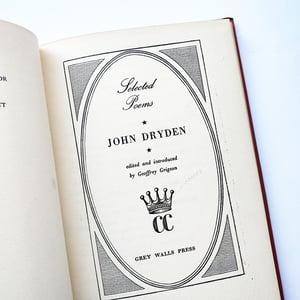 Selected Poems of John Dryden