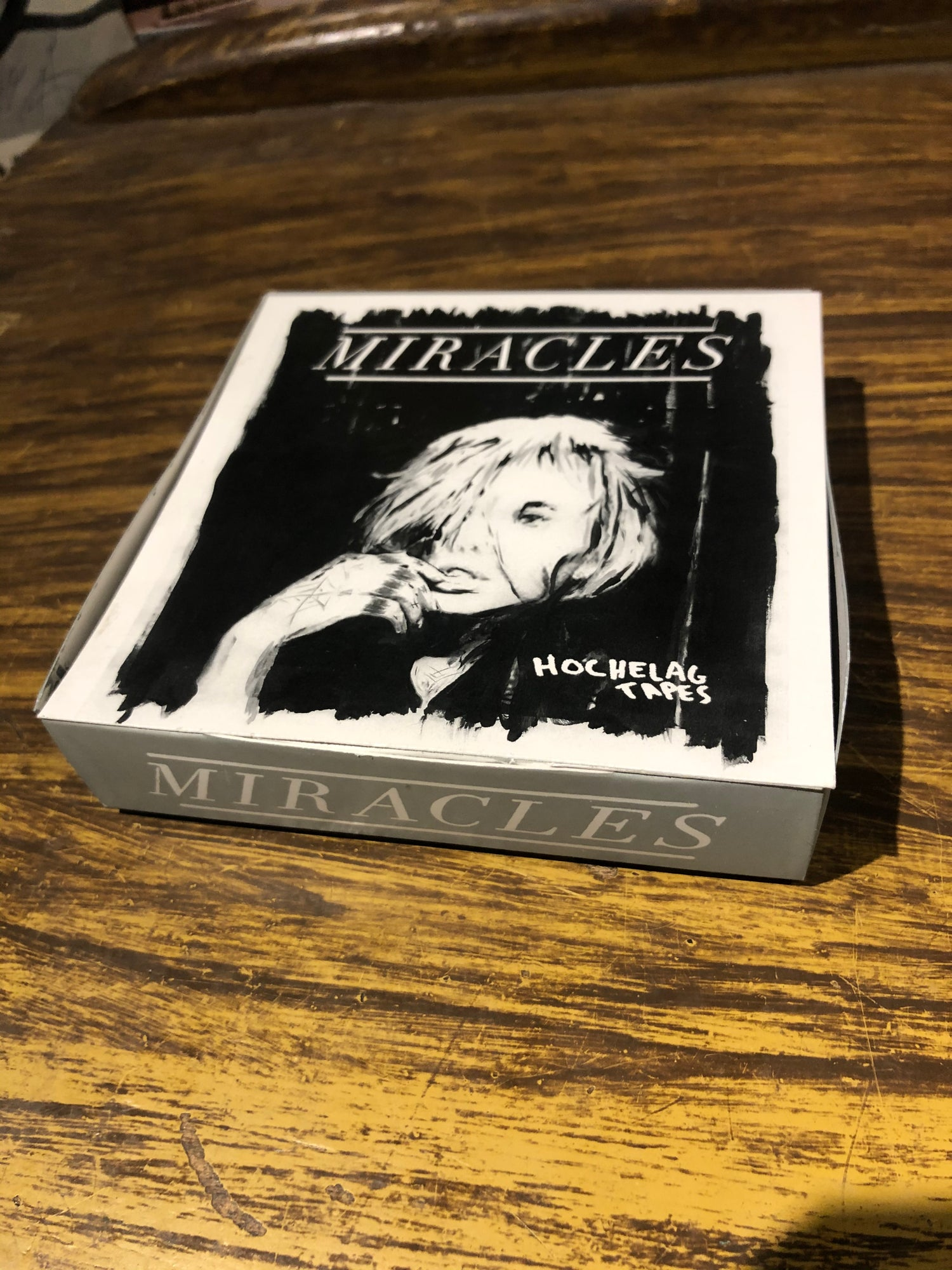 """Image of Miracles """" Hochelag Tapes """" Cassette / Tape + Patch"""