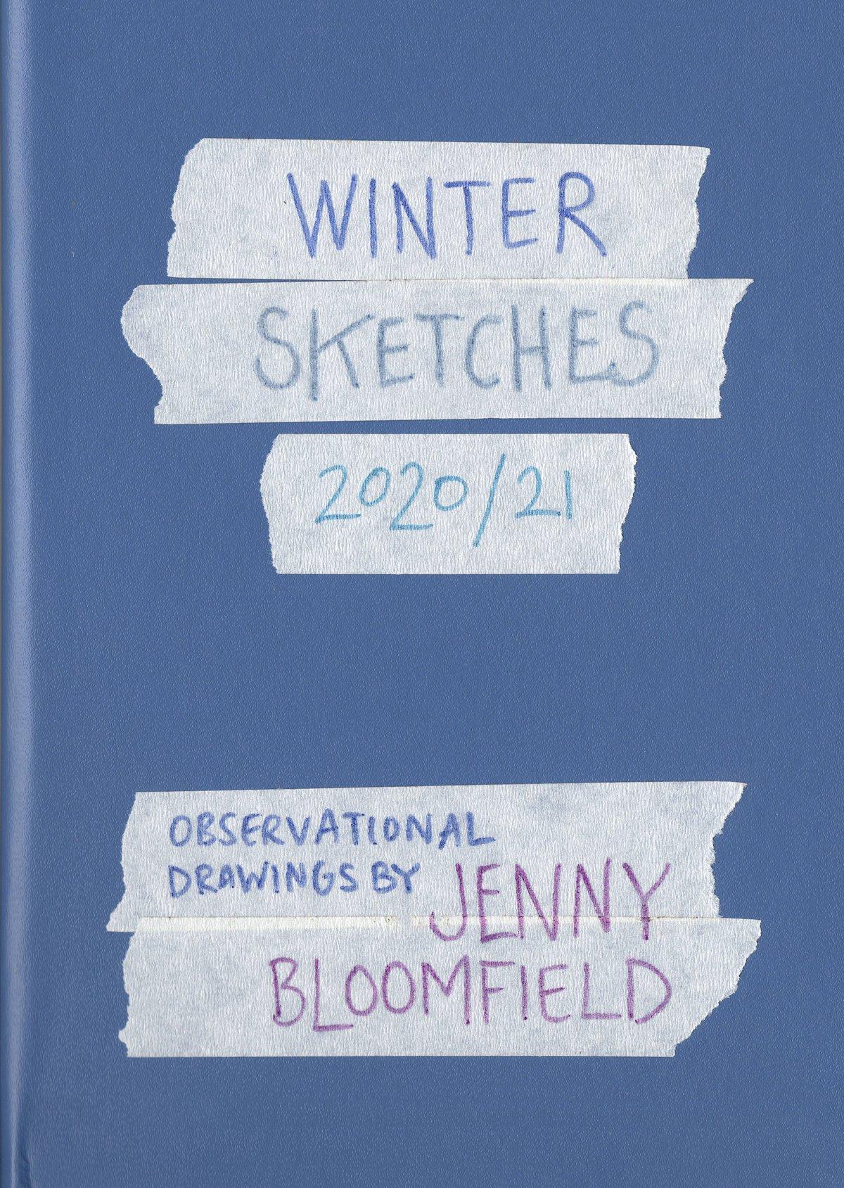 Image of Winter Sketches - sketchbook zine
