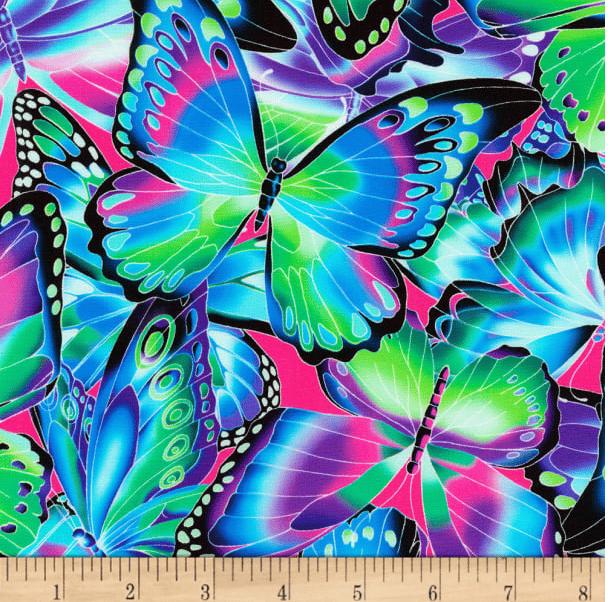 Image of Butterflies Jewel Shade 30cm