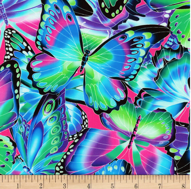 Image of Butterflies Jewel Shade 30cm
