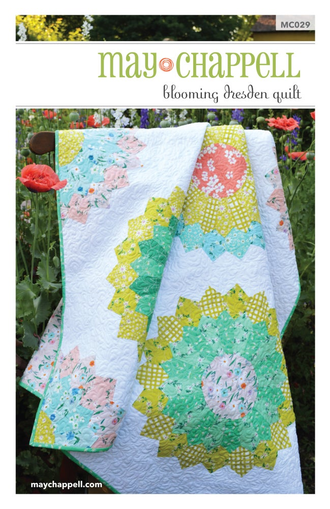Image of Blooming Dresden Quilt