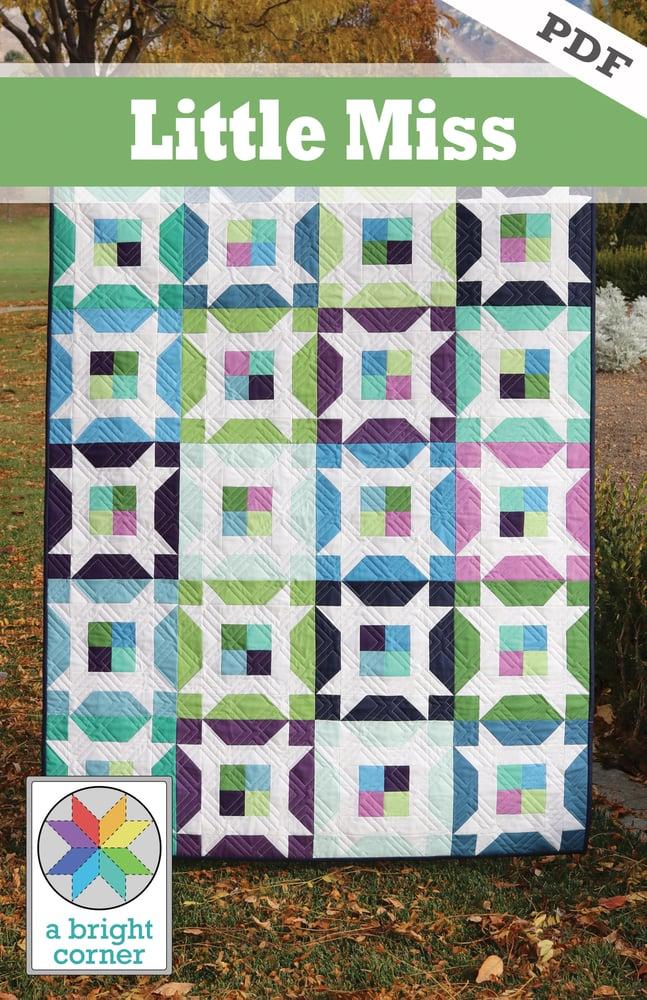 Image of Little Miss Quilt Pattern - PDF version