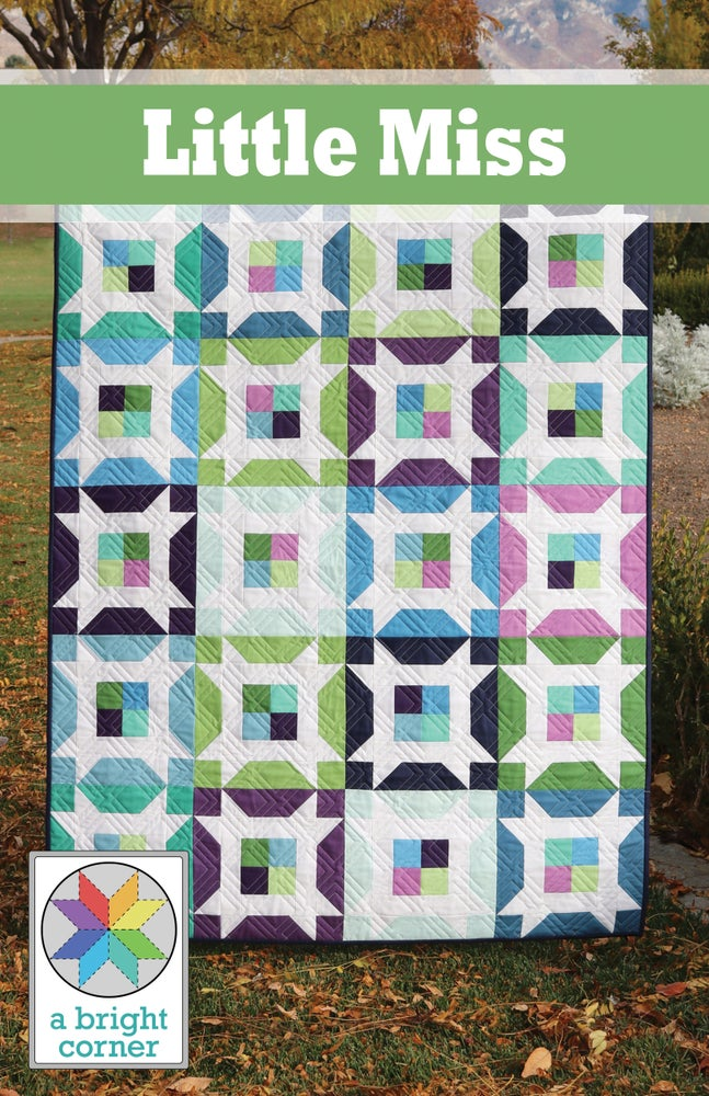 Image of PRE-ORDER:  Little Miss Quilt Pattern - PAPER pattern