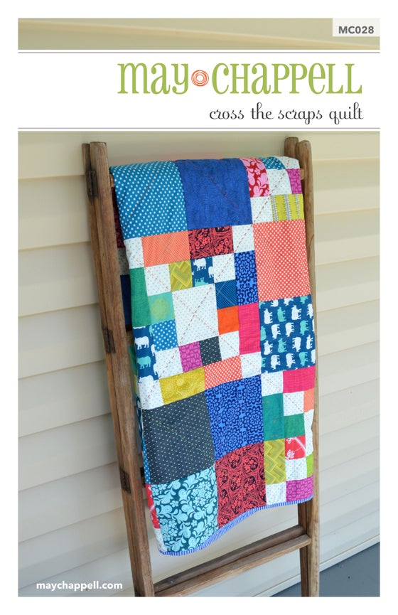 Image of Cross the Scraps Quilt