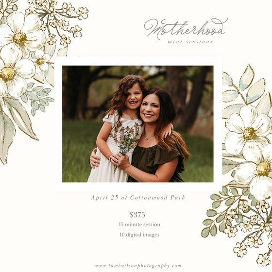 Image of Motherhood Mini Sessions - April 25