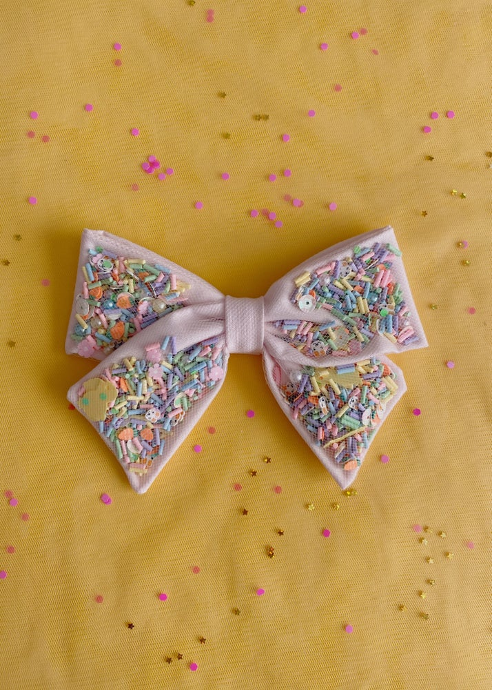 Image of Confetti Bow | EASTER BUNNY