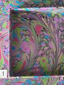 Contemporary Swirl Garden- Square 5x5 Valet Tray