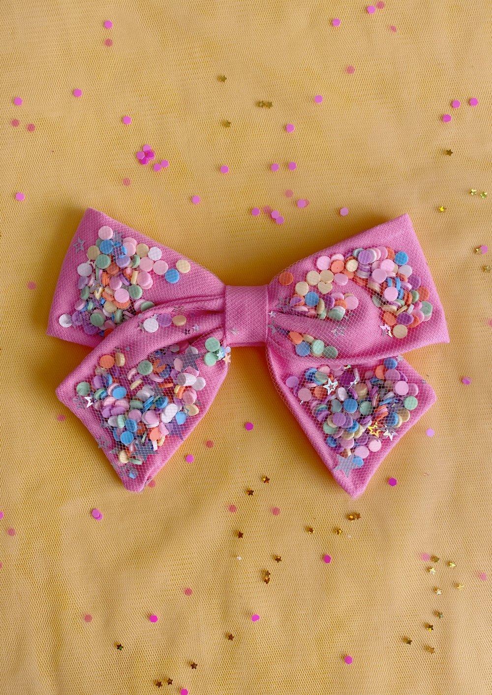Image of Confetti Bow | Confetti Party