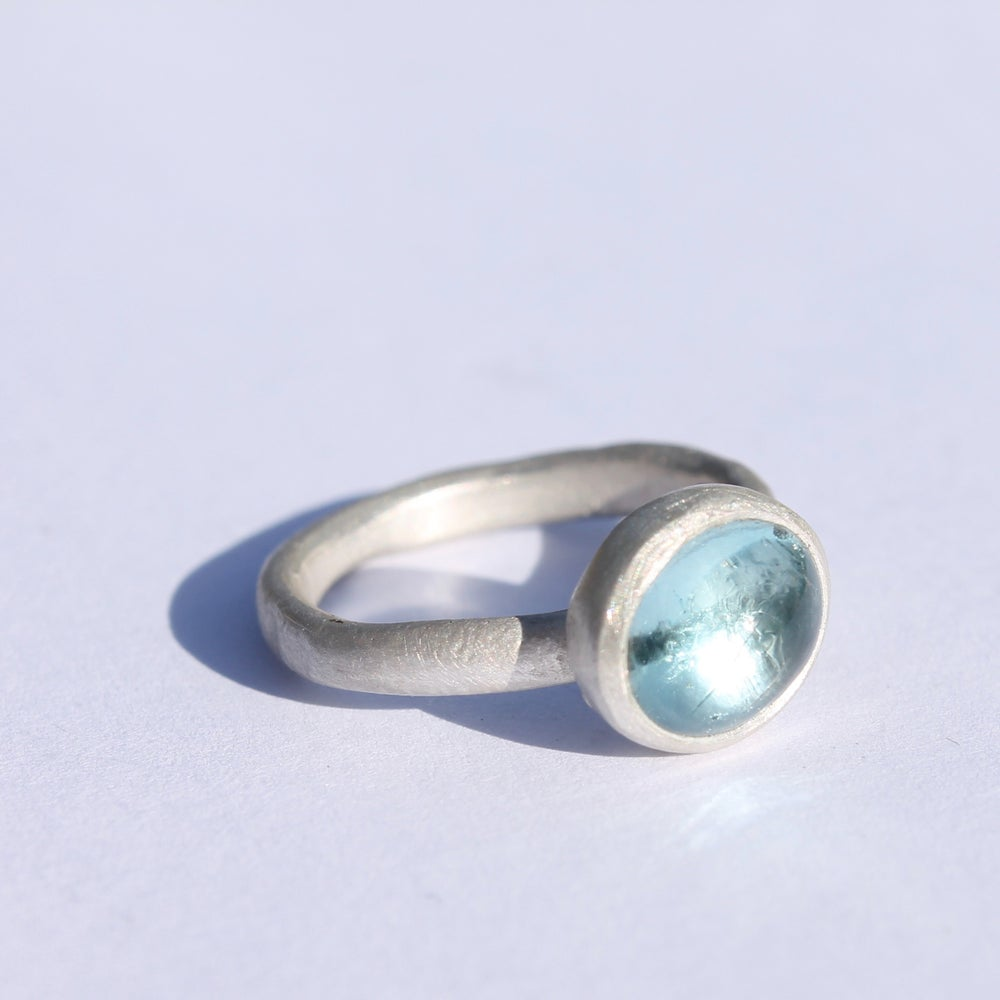 Image of Aquamarine ring 1