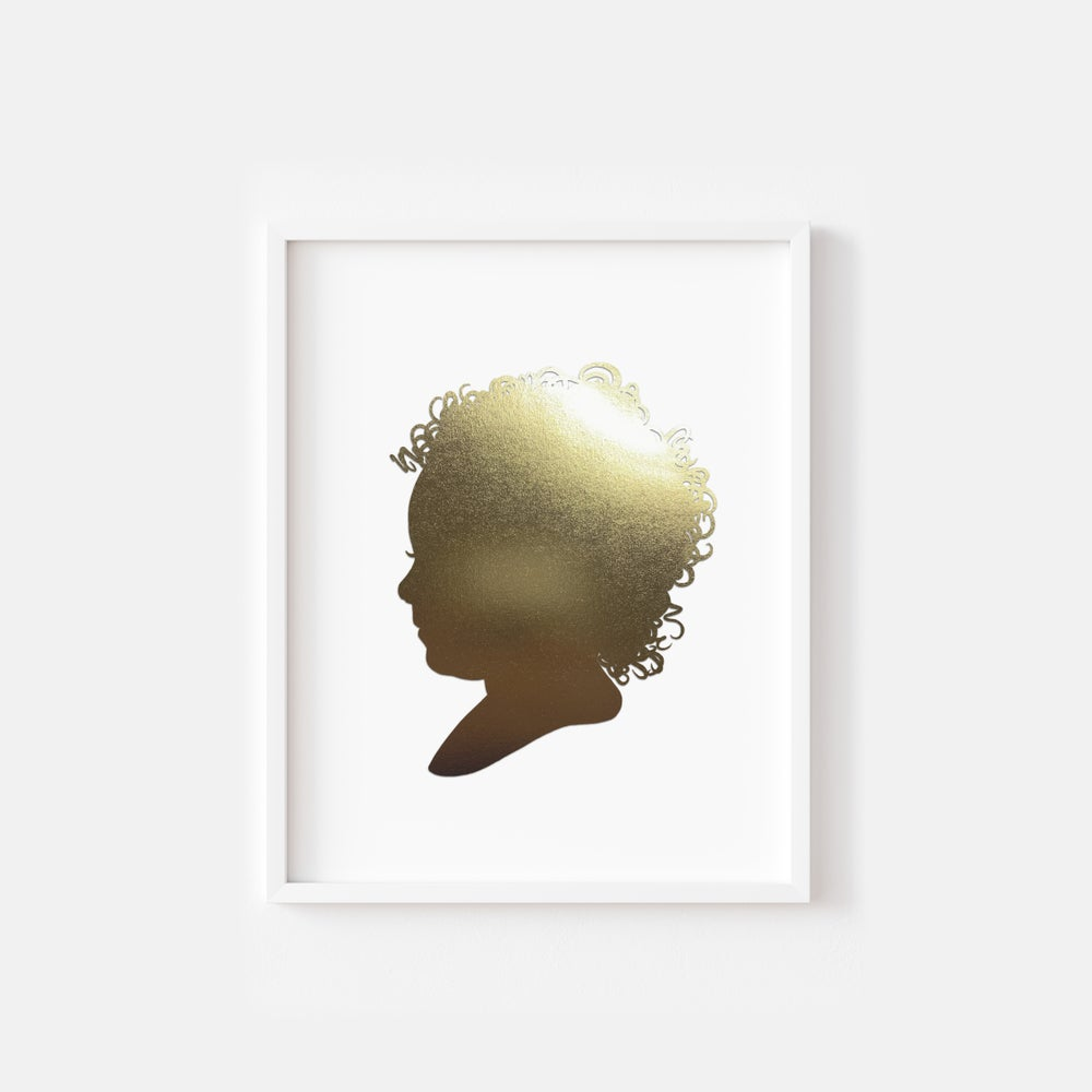 Image of NEW! Golden Hand Cut Silhouette