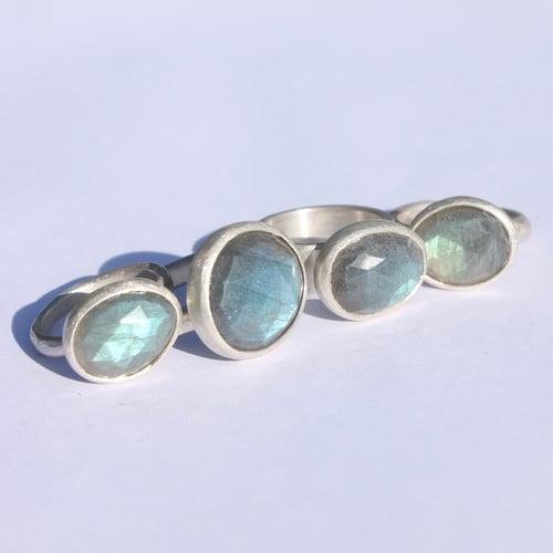 Image of Labradorite ring 2