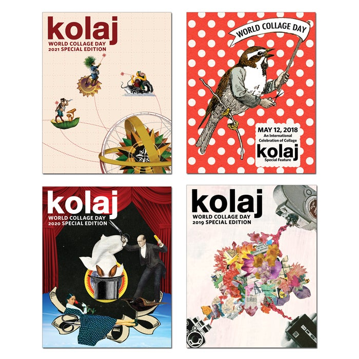 Image of World Collage Day Special Edition 4-pack (2018-2021)
