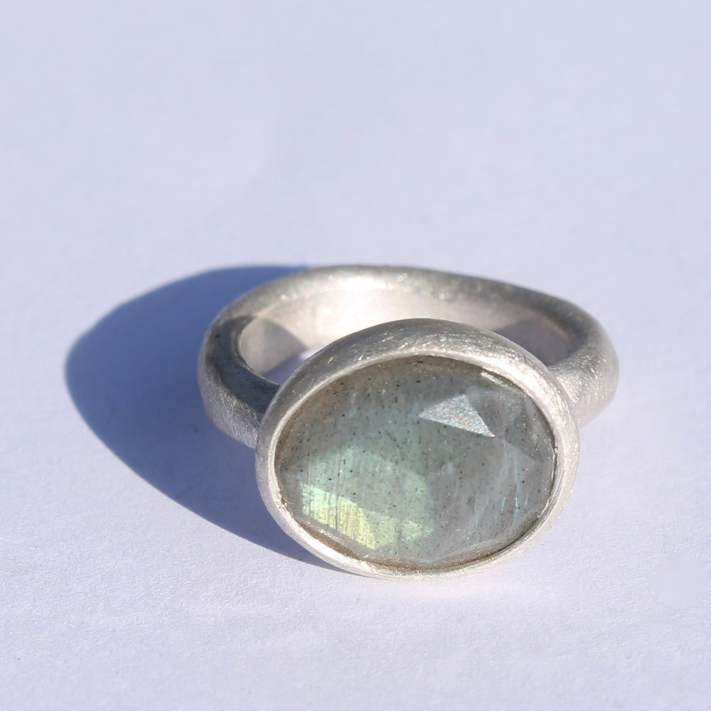 Image of Labradorite ring 3